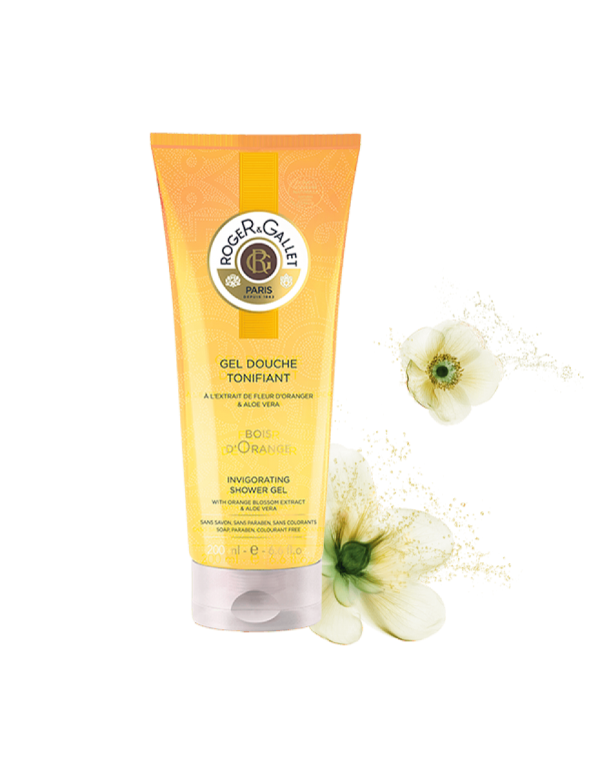 Roger & Gallet Bois D'orange Tonificante Gel Doccia Freschezza 200ml