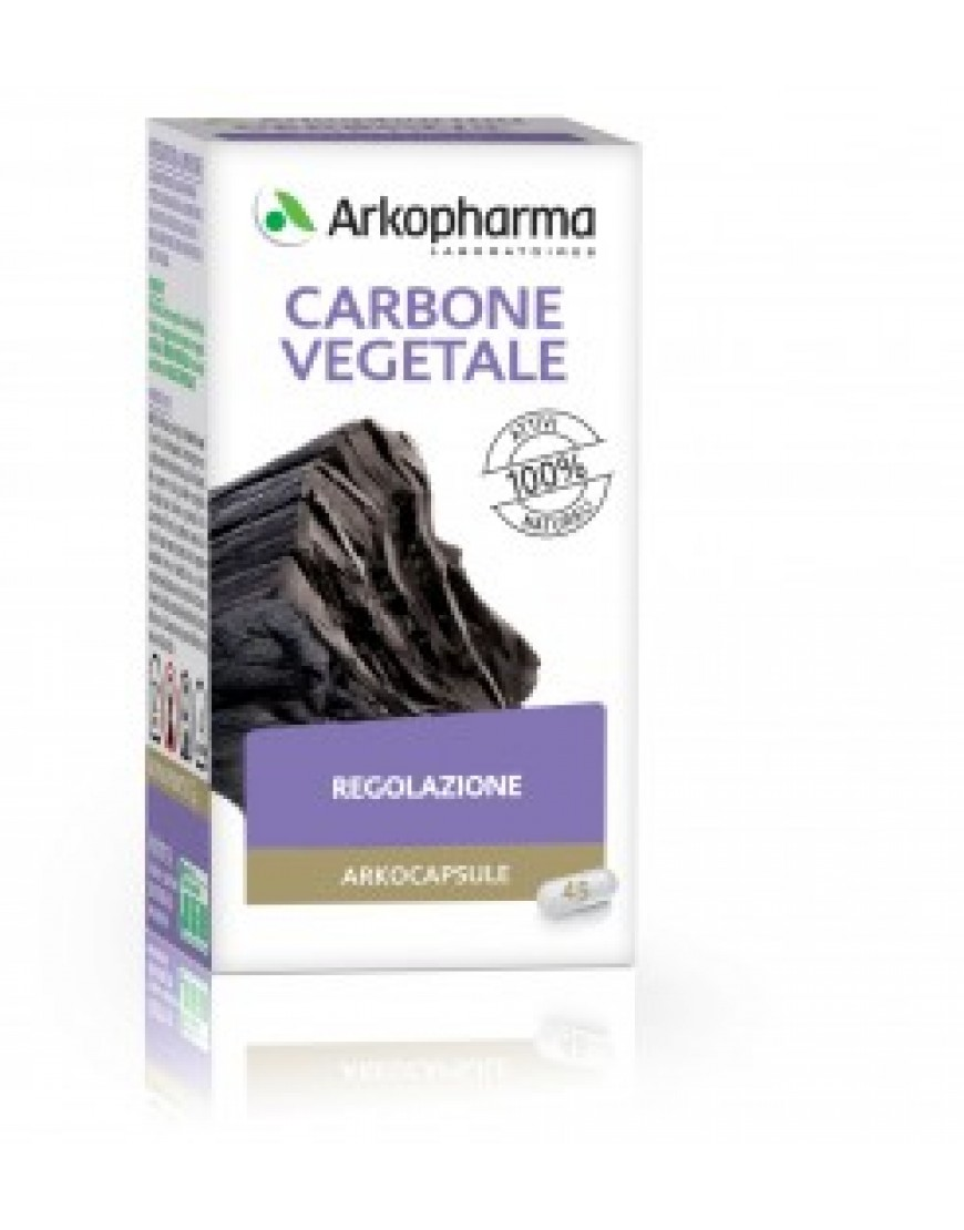 Arkocapsule Carbone Vegetale 45CPS