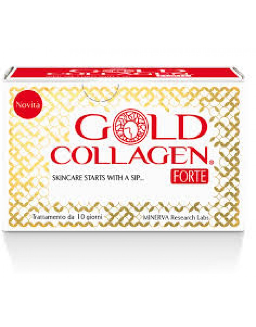 GOLD COLLAGEN FORTE 10 FLACONCINI