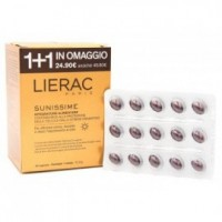 LIERAC  SUNISSIME 30+30CPS DUO