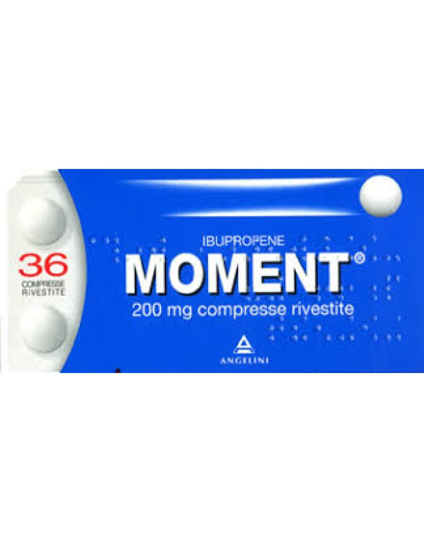 MOMENT 36 COMPRESSE RIVESTITE 200 MG