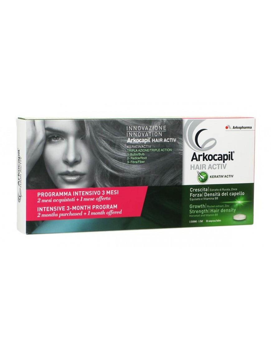 ARKOCAPIL HAIR ACTIV 3 X 30 Compresse