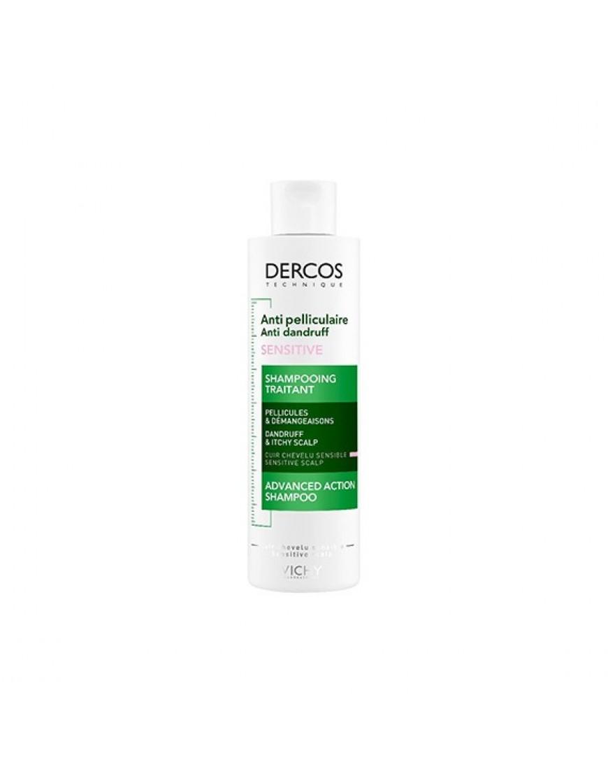 Vichy Dercos Shampoo Antiforforfora Sensitive 200ml