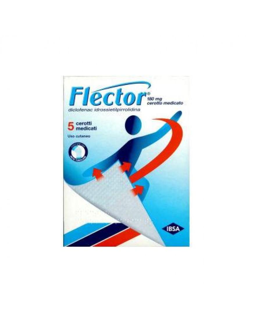 FLECTOR*5 CEROTTI MEDICATI 180MG