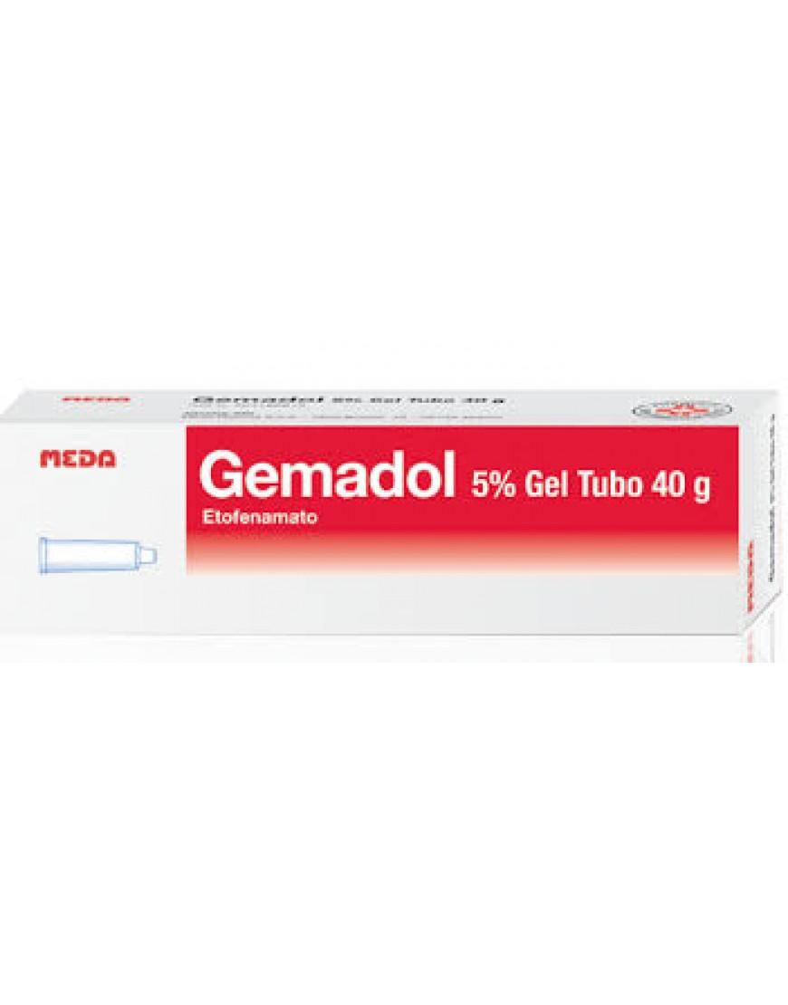 GEMADOL*GEL 40G 5%