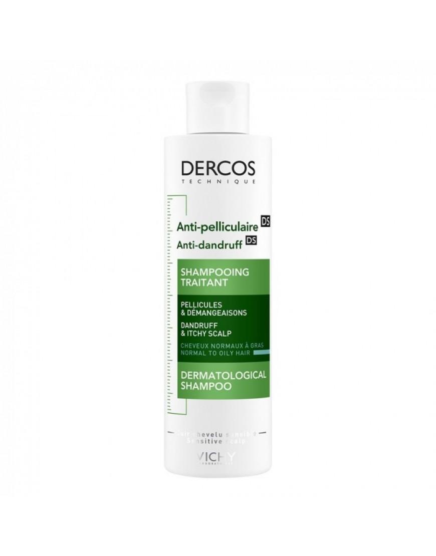 Vichy Dercos Shampoo  Capelli Grassi Sebo Regolatore 200ml