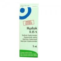 HYABAK SOLUZIONE OFTALMICA 5ML