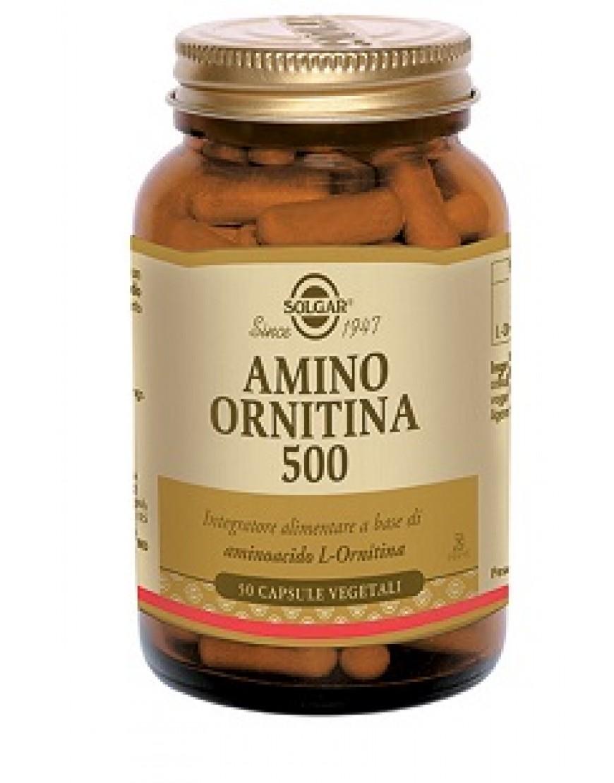 AMINO ORNITINA 500 50CPS VEG