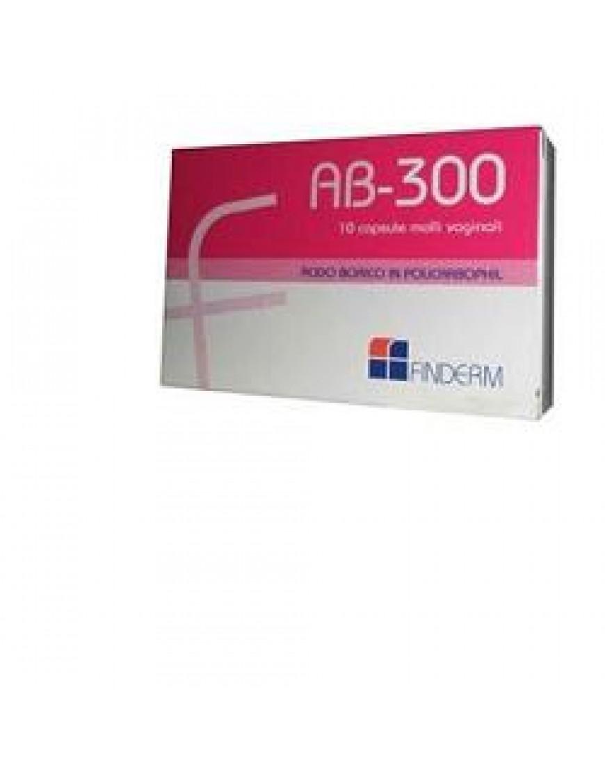 AB300 CAPSULE VAGINALI 10 PEZZI