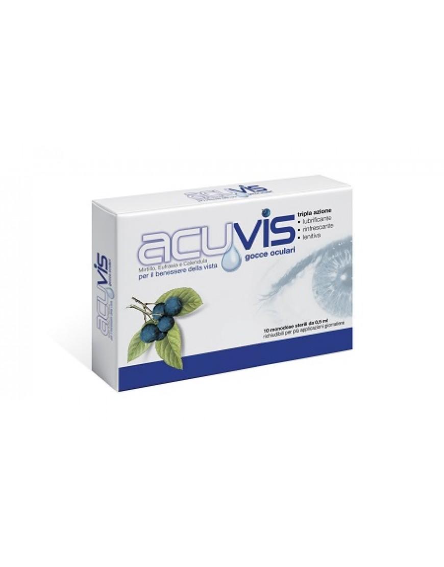 ACUVIS GOCCE OCULARI 10FIALE MONODOSE DA  0,5ML