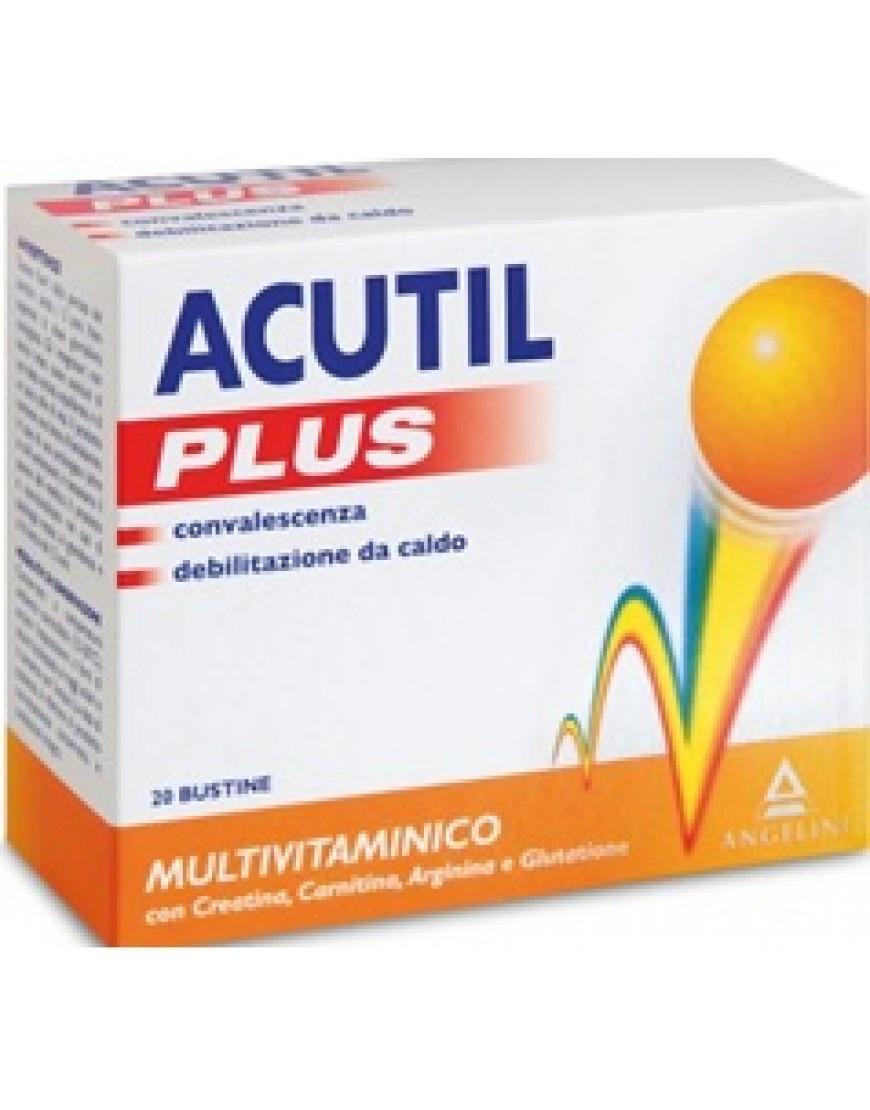 ACUTIL MULTIVIT PLUS 20 BUSTINE