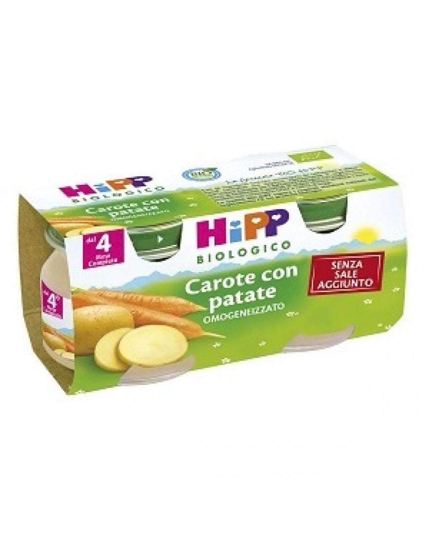 HIPP BIO OMOGENEIZZATO CAROTE PATATE 2X80G