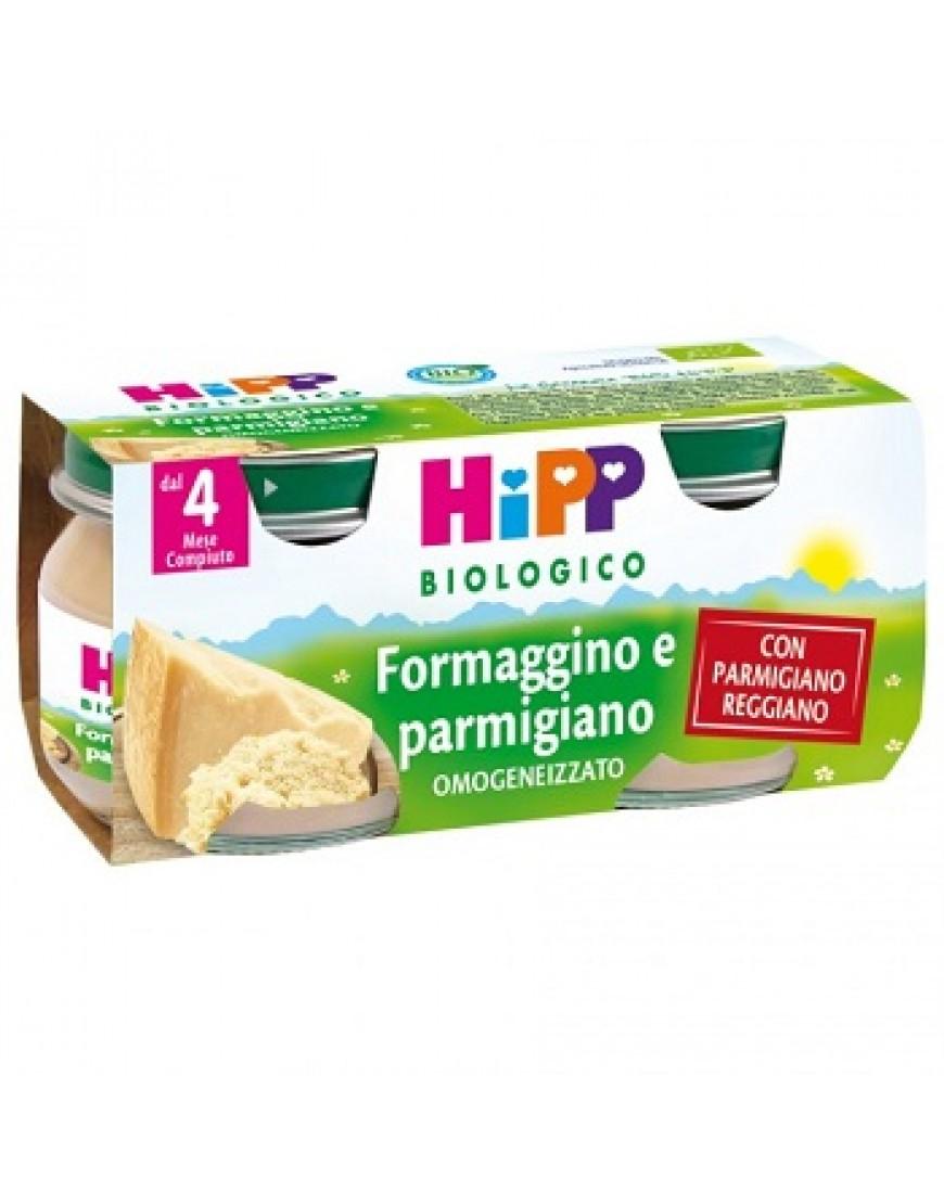 HIPP BIO OMOGENEIZZATO FORMAGGINO 2 X 80 G