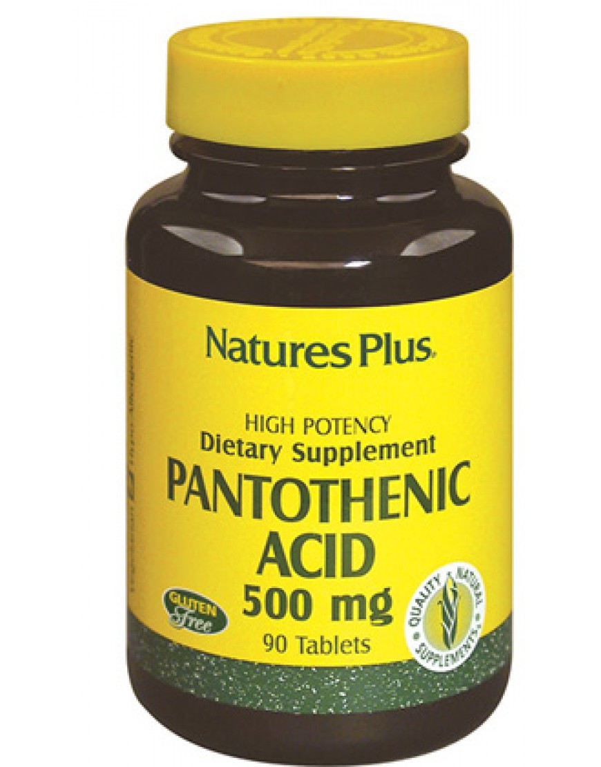 ACIDO PANTOTENICO 500 MG
