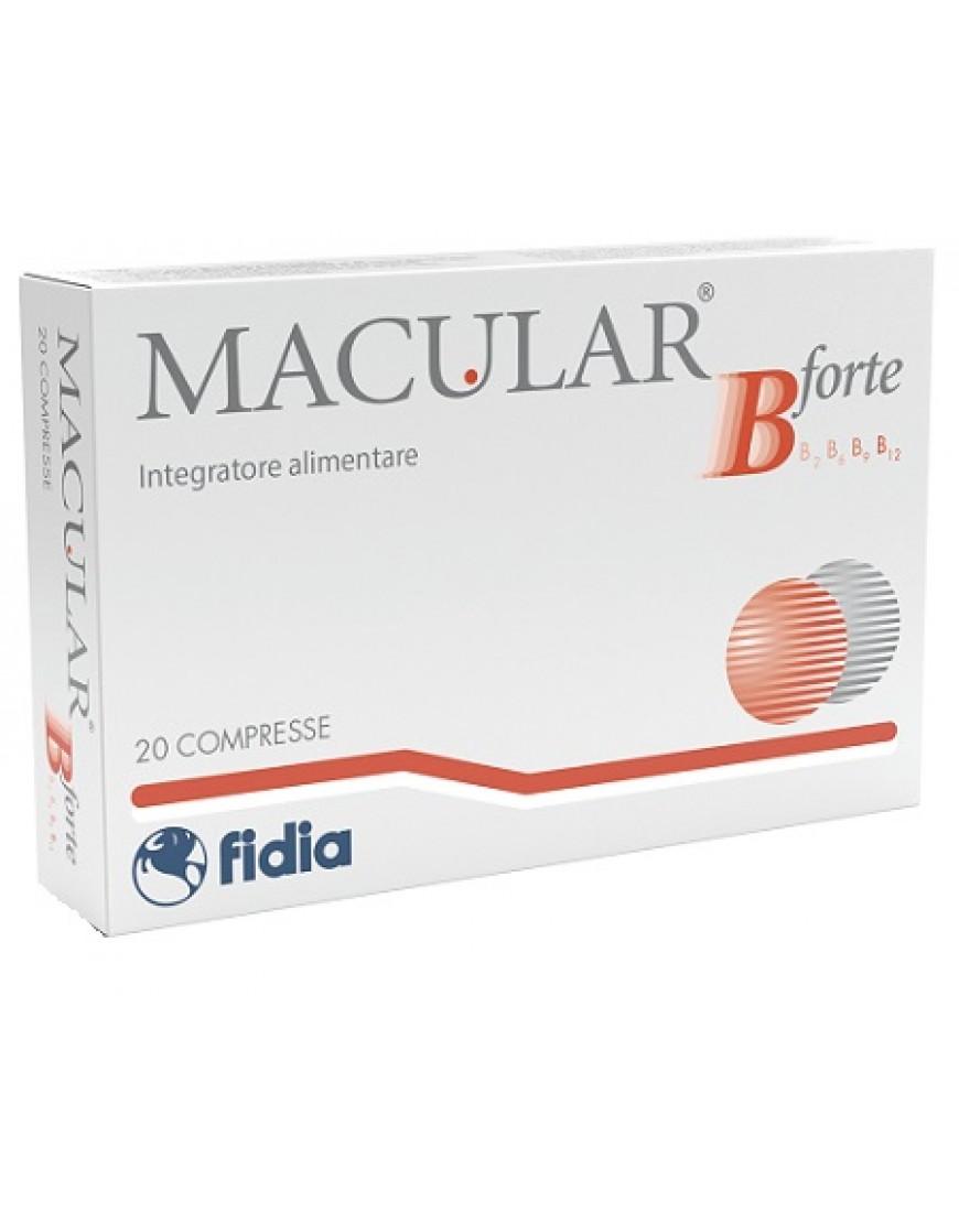 MACULAR B FORTE 20CPR
