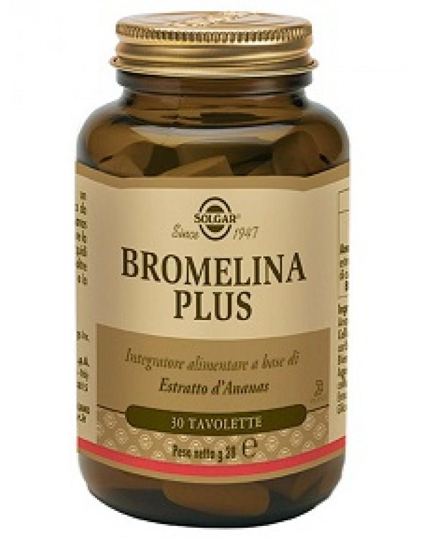 Solgar Bromelina Plus 30 Tavolette