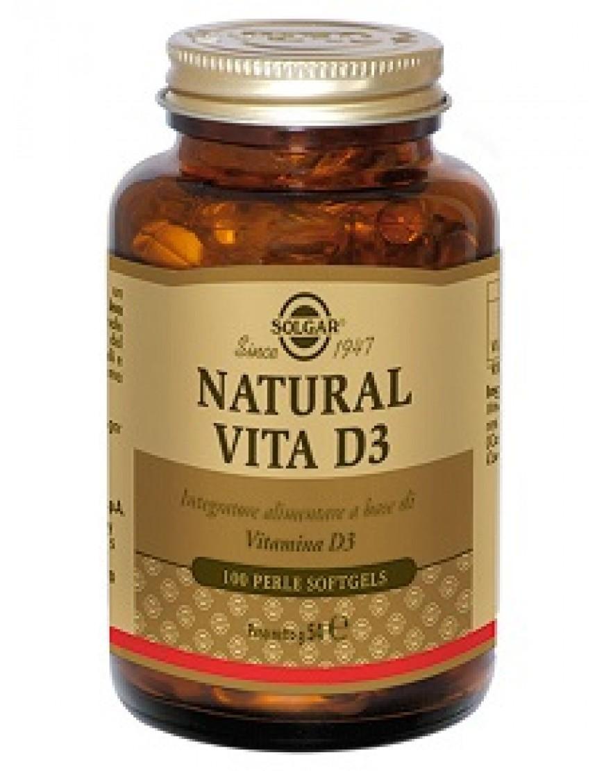 Solgar Natural Vita D3 100 Perle