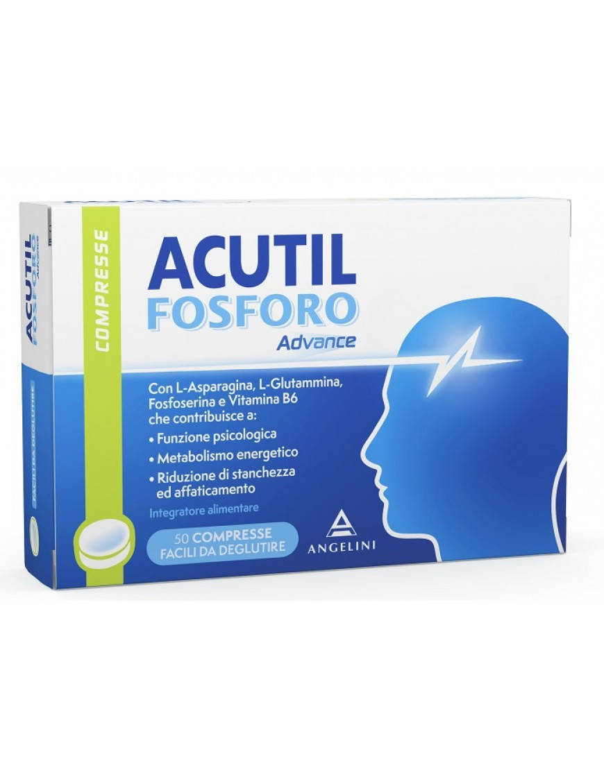 ACUTIL FOSFORO ADVANCE 50COMPRESSE