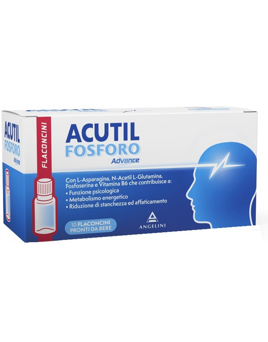 ACUTIL FOSFORO ADVANCE 10FLACONI