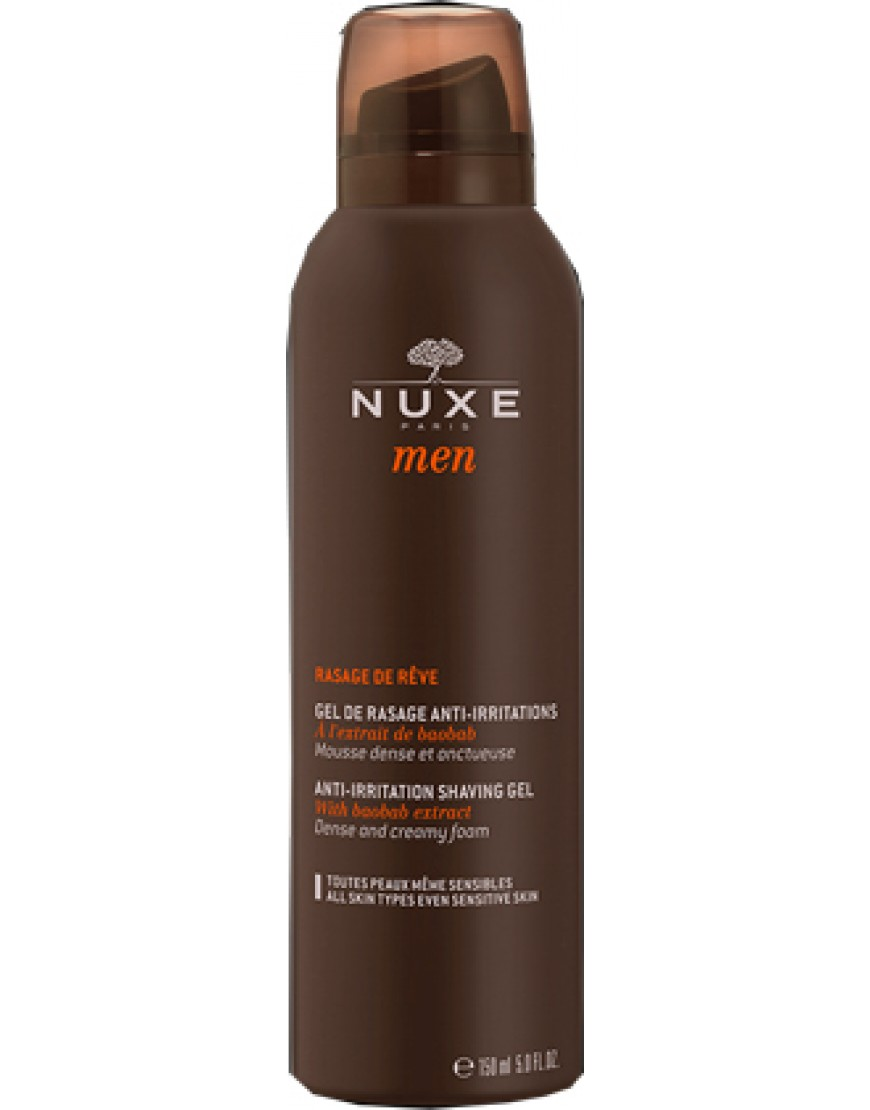 NUXE MEN GEL DE RASAGE ANTI IRRITAZIONE 75 ML
