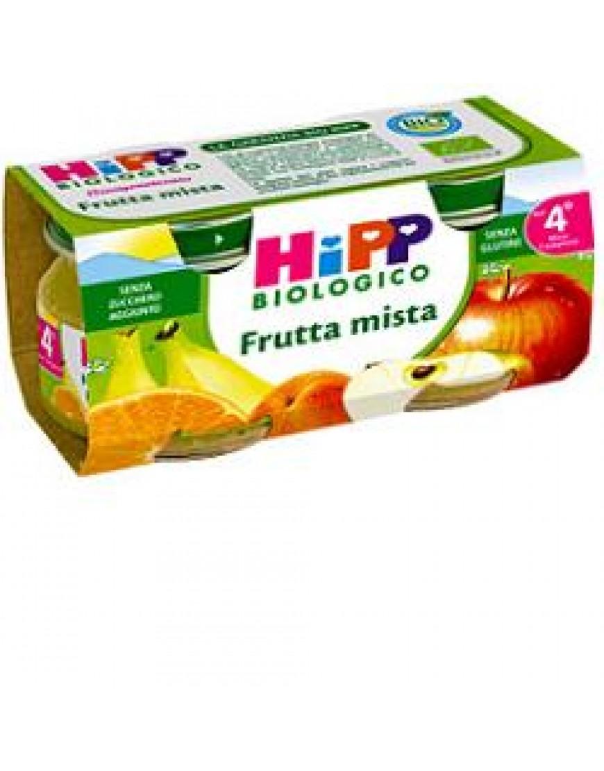 HIPP BIO OMOGENEIZZATO FRUTTA MISTA 2 X 80 G