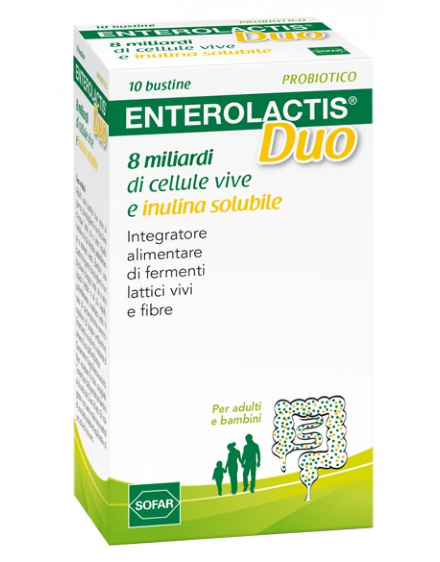 ENTEROLACTIS DUO POLVERE 10 BUSTINE