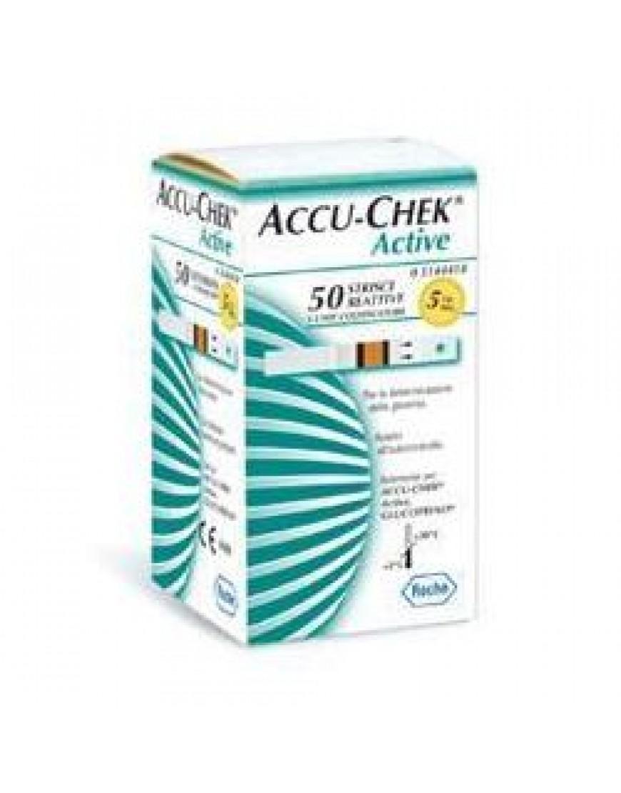ACCU-CHEK ACTIVE 50STR