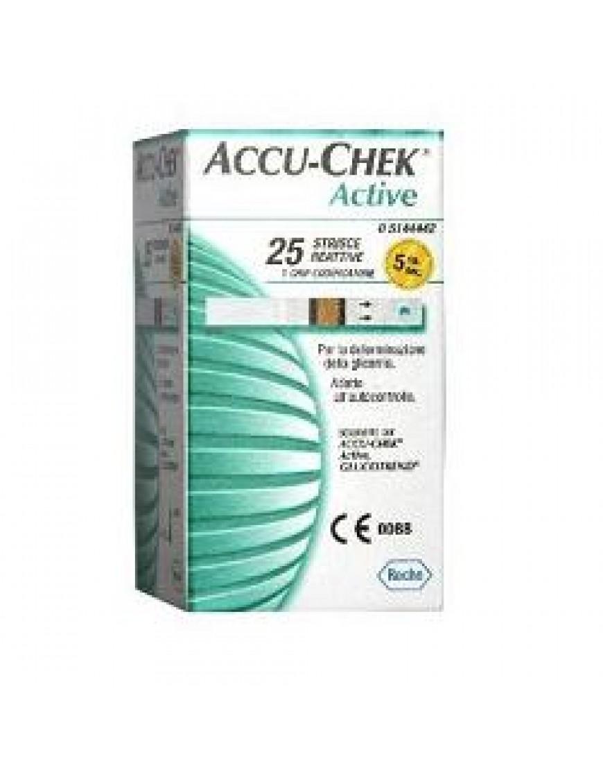 ACCU-CHEK ACTIVE 25STR