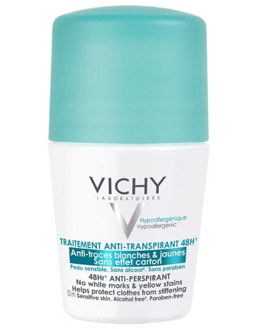 Vichy Deodorante Roll On 50ML 48 H Antitranspirante Anti Tracce 50ml
