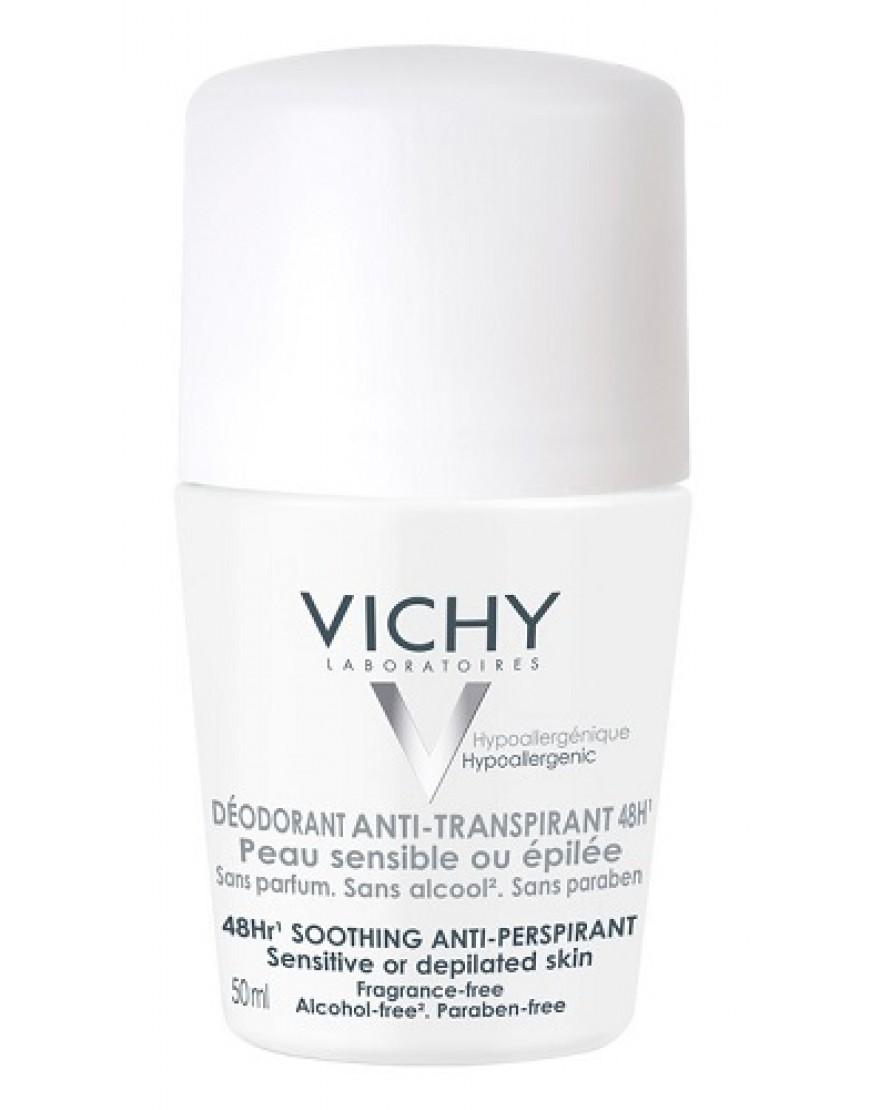 Vichy Deodorante Roll On Pelle Sensibile 50ml