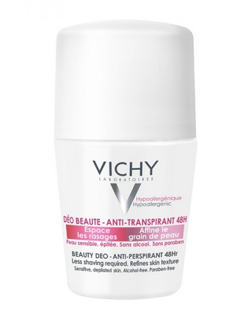 Vichy Deodorante Antitranspirante 48h Roll On 50ml