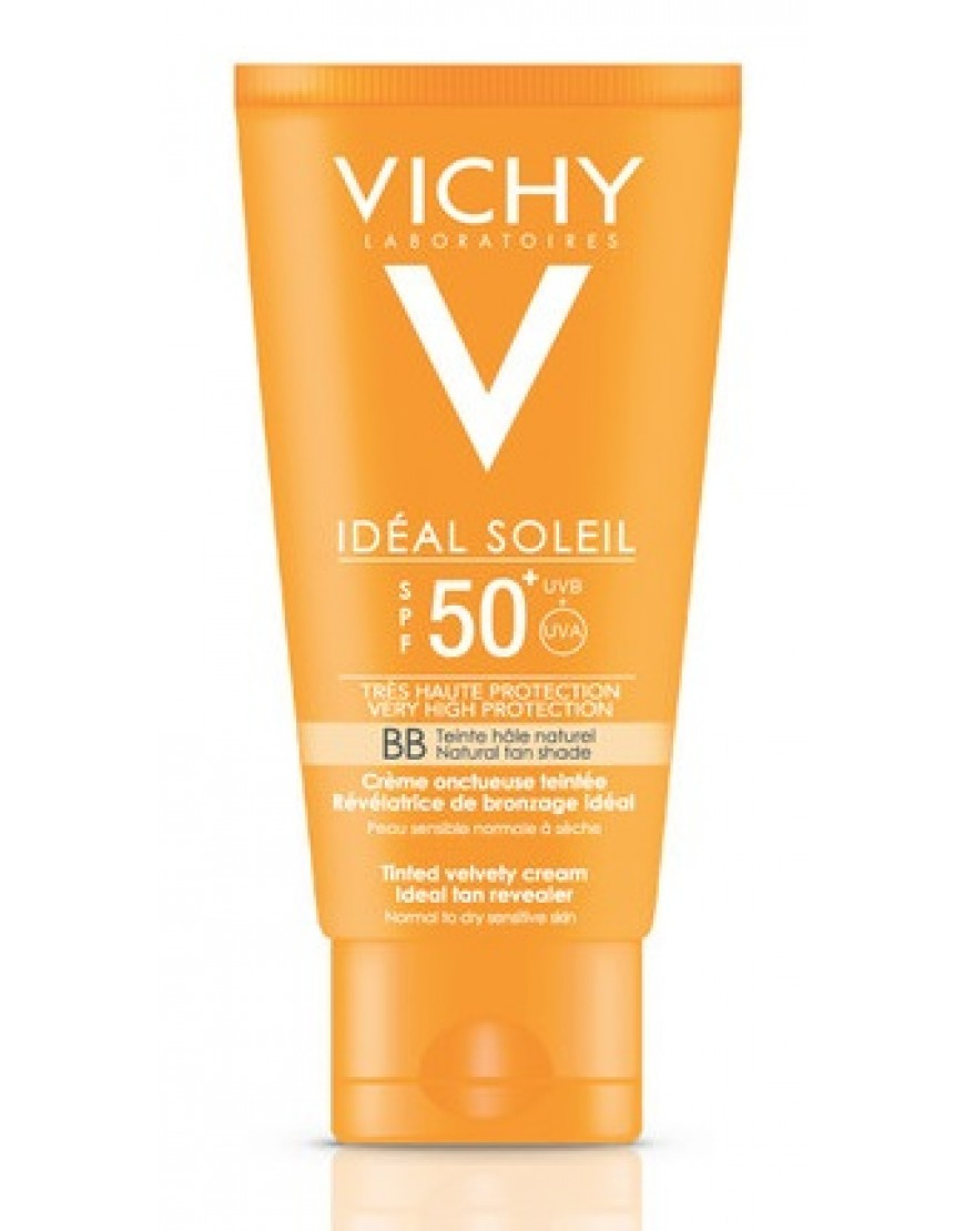VICHY CAPITAL SOLEIL CREMA SOLARE DRY TOUCH BB SPF50 50