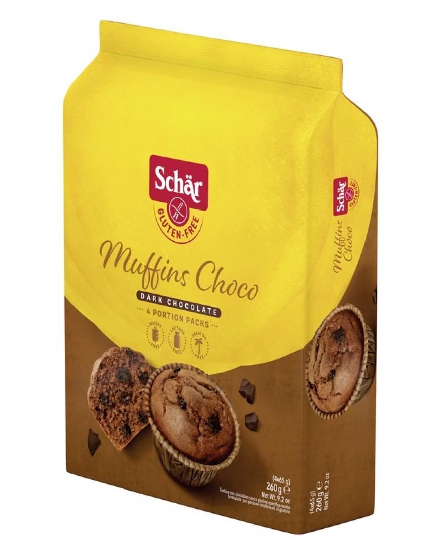 SCHAR MUFFINS CHOCO 260G