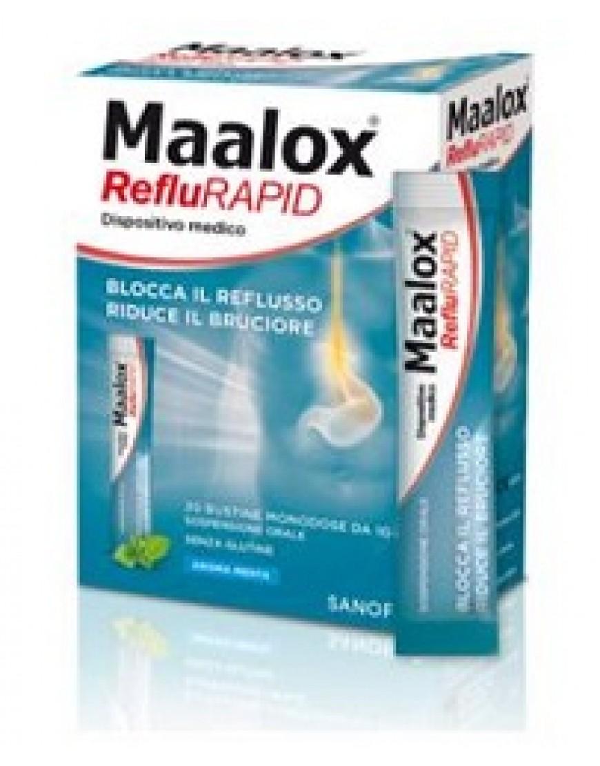 MAALOX REFLURAPID 20BUST