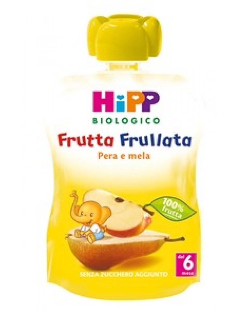 HIPP BIO FRUTTA FRULLATA MELA PERA 90G