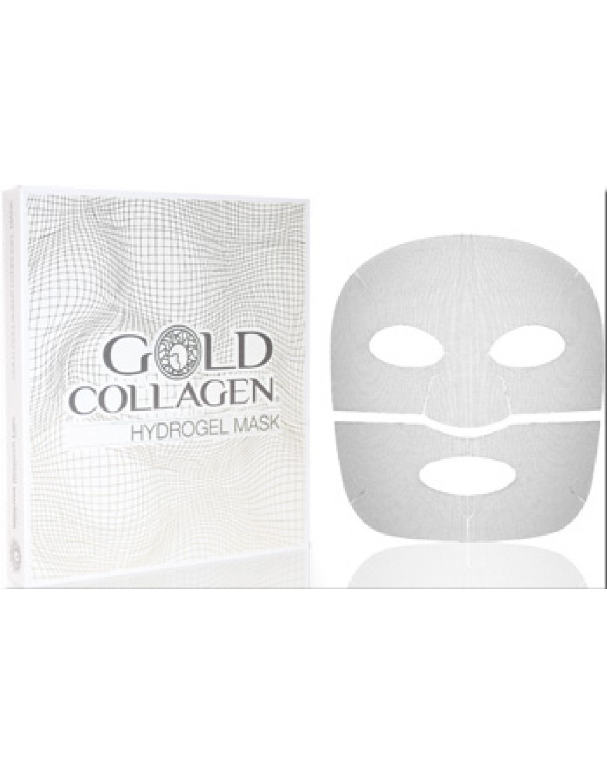GOLD COLLAGEN HYDROGEL MASK 4 maschere