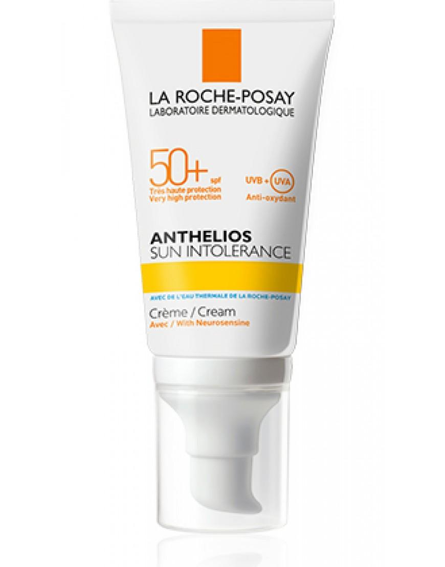 La Roche Posay Anthelios Sun Intolerance Crema Pelle Sensibile Sole Spf50+ 50ml
