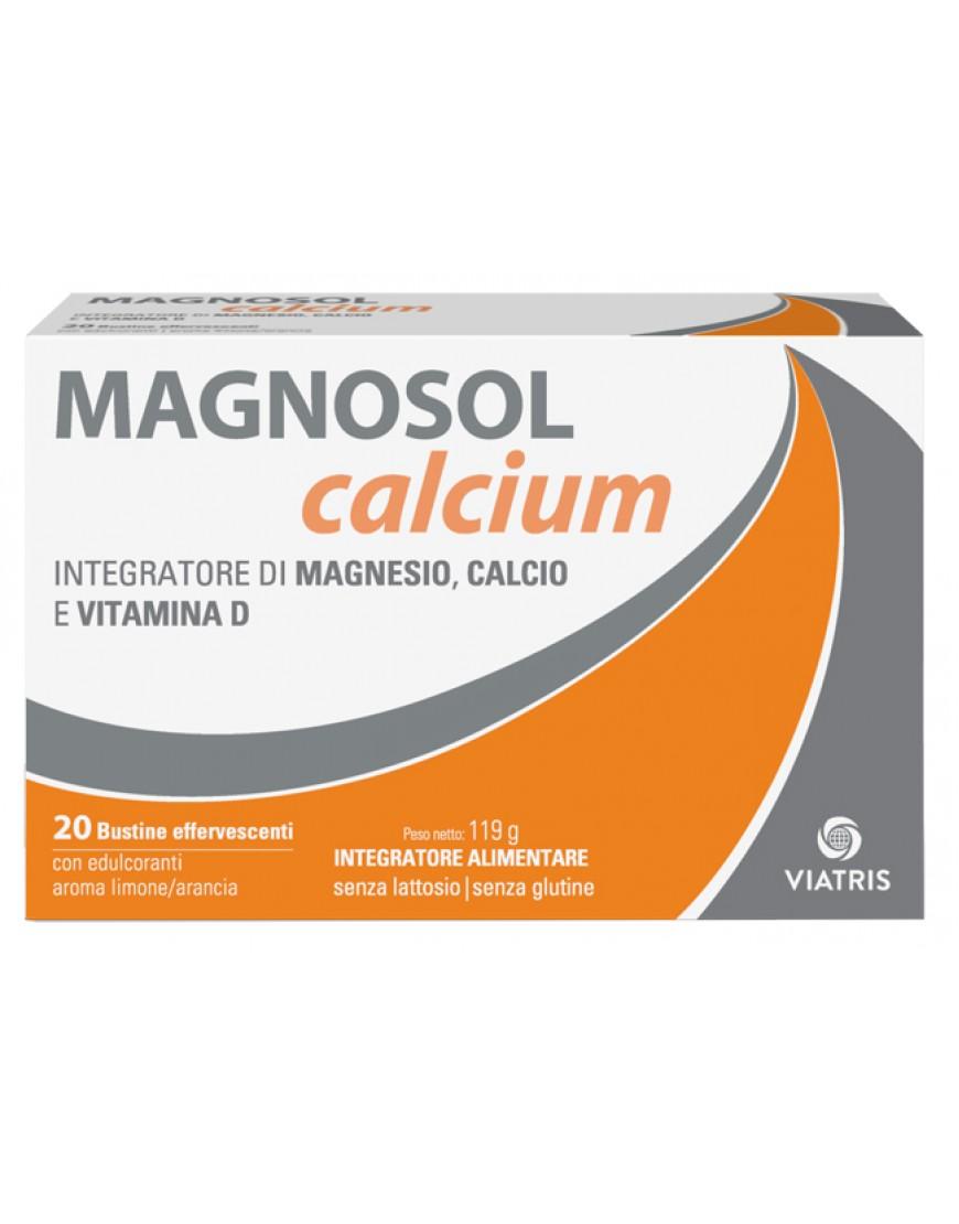MAGNOSOL CALCIUM EFFERV 20BUST