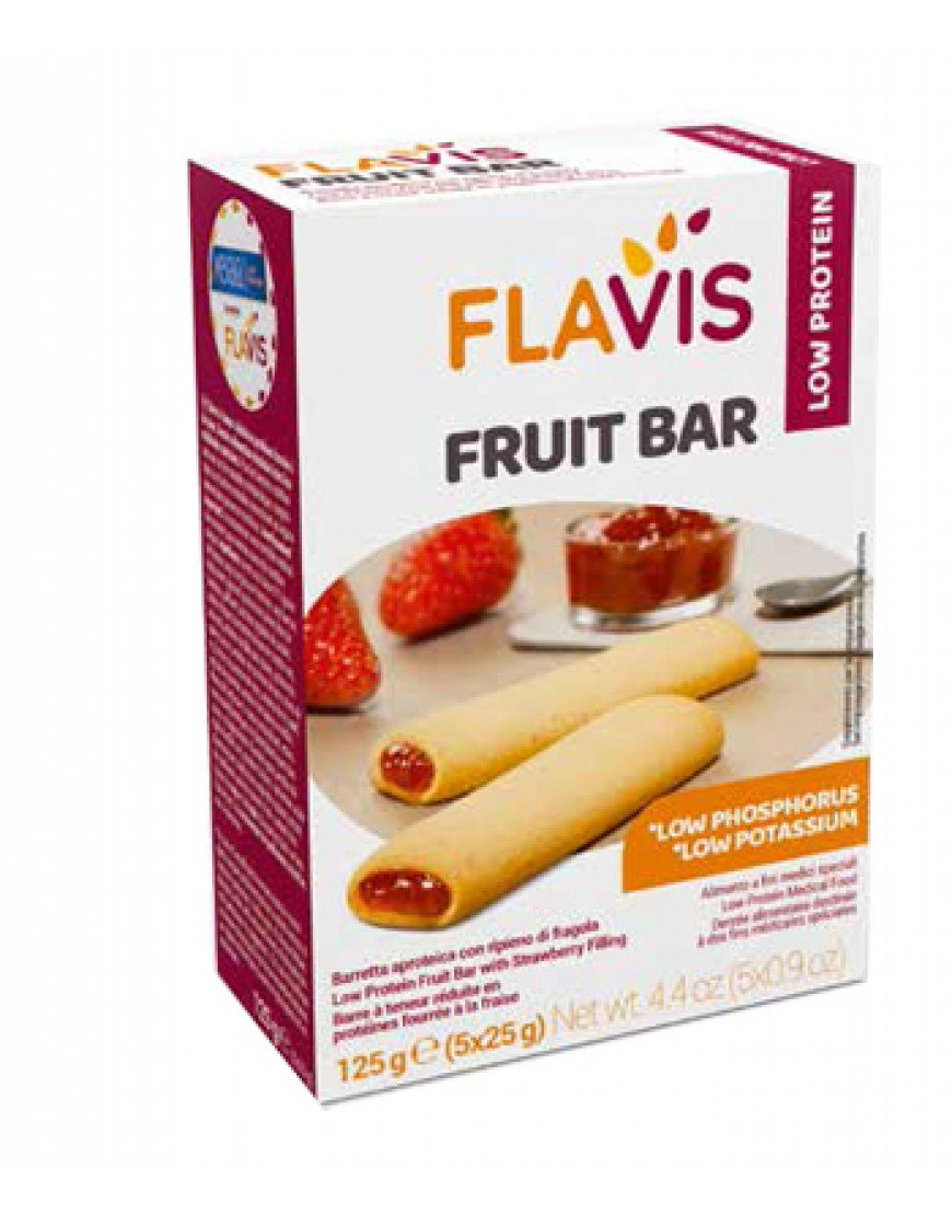 MEVALIA FLAVIS FRUIT BAR 125 G