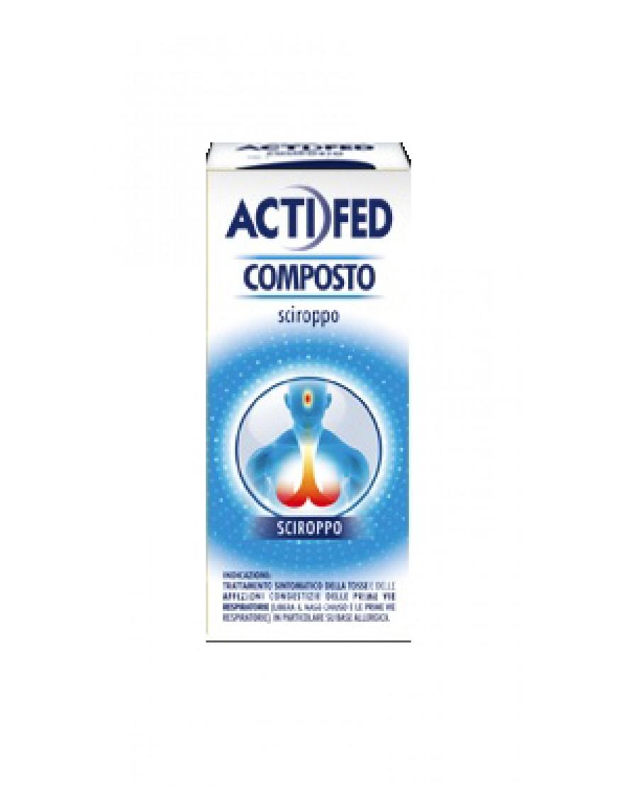 ACTIFED COMPOSTO*SCIROPPO 100ML