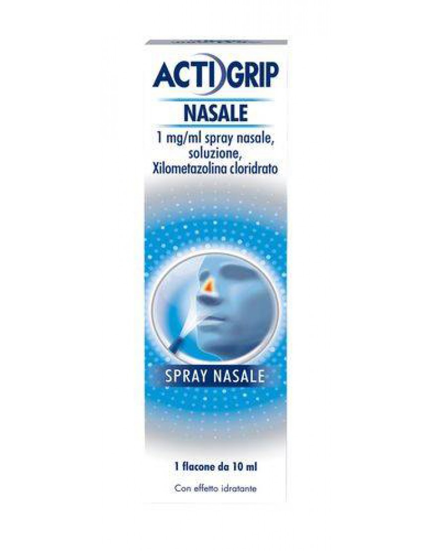 ACTIFED DECONGESTIONANTE SPRAY NASALE 10 ML