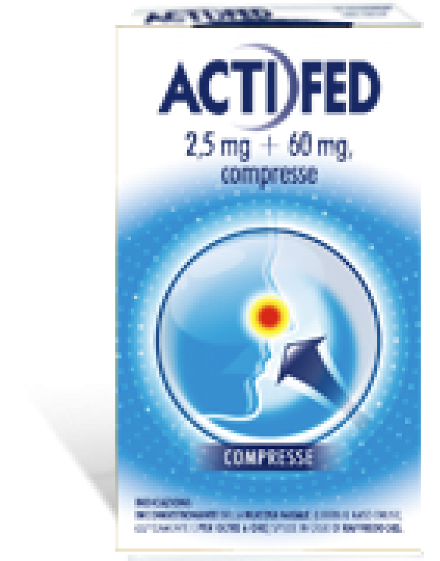 ACTIFED*12 COMPRESSE 2,5MG+60MG