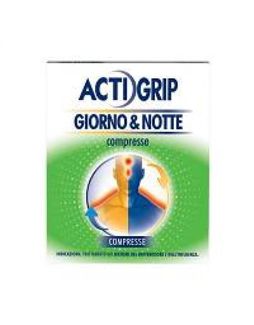 ACTIGRIP GIORNO&NOTTE*12COMPRESSE GIORNO+4 COMPRESSE NOTTE