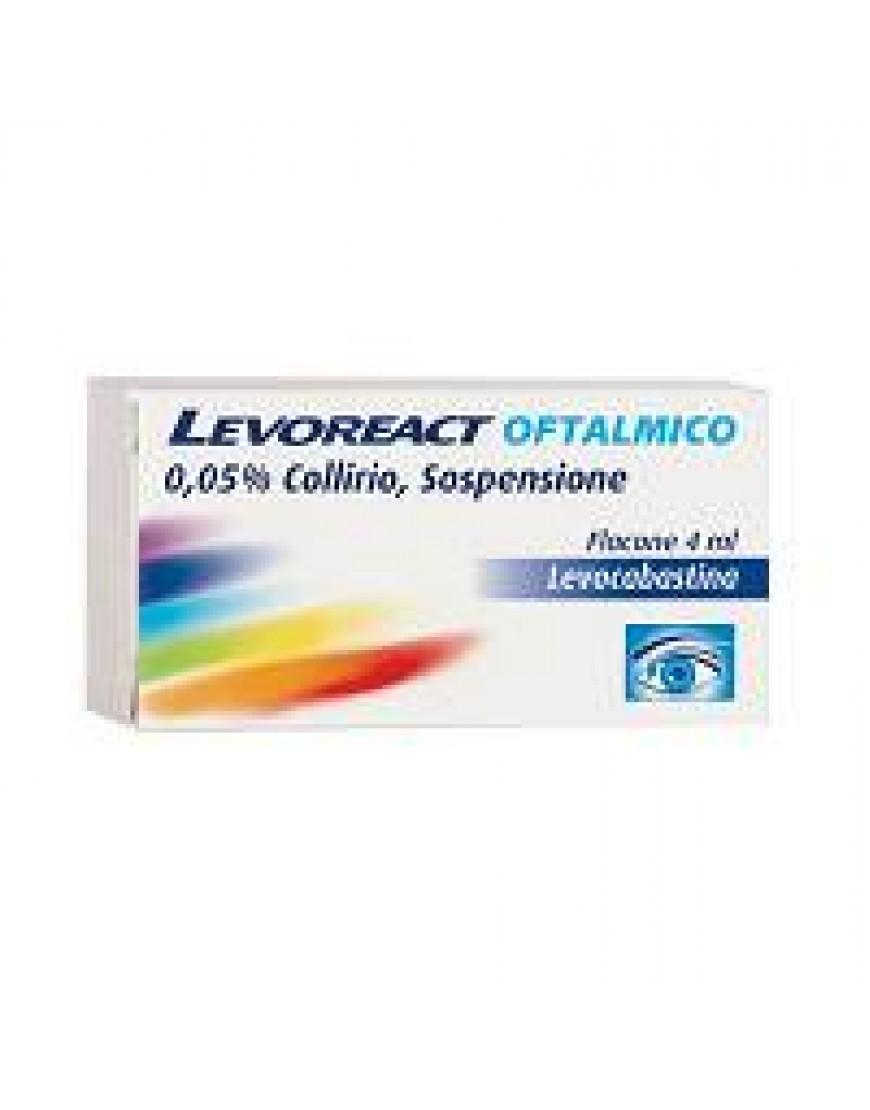 LEVOREACT OFTA COLLIRIO