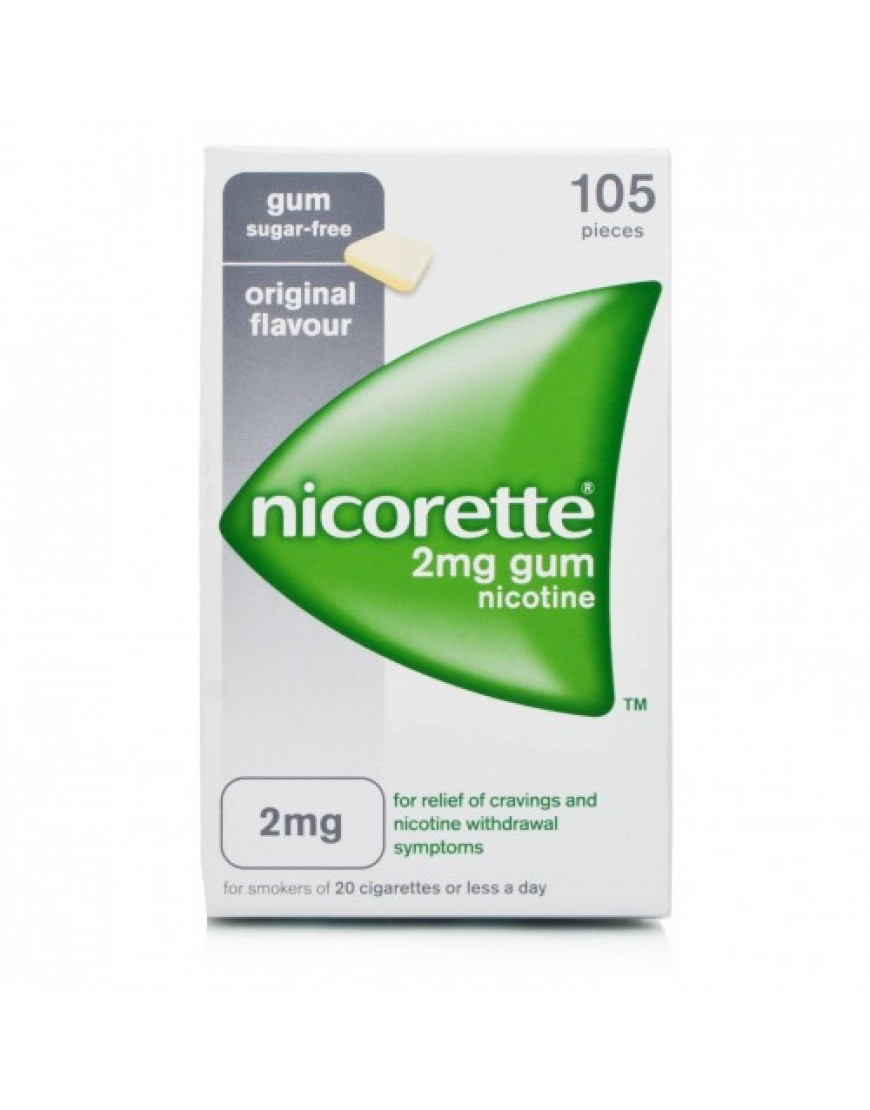 Nicorette 105 Gomme Masticabili 2mg