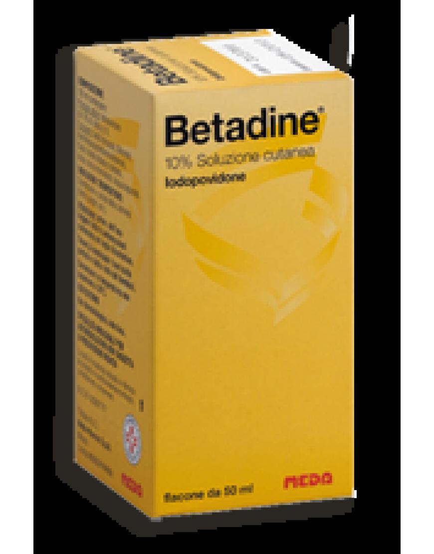 Betadine Soluzione Cutanea Flacone 50ml 10%