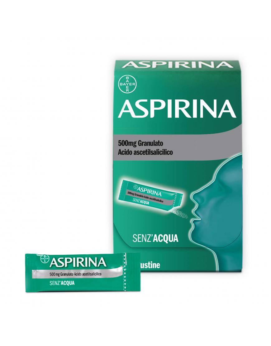 ASPIRINA OROSOLUBILE 10BUST 500MG