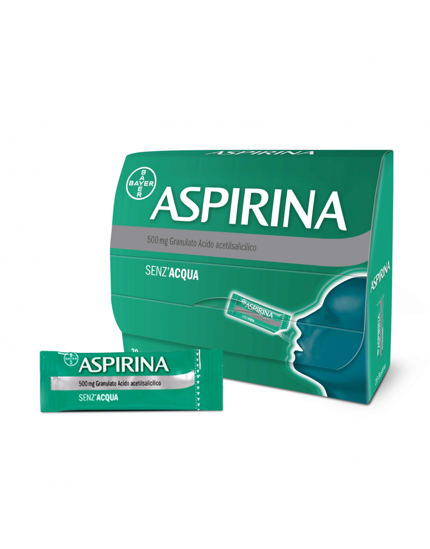 ASPIRINA OROSOLUBILE 20 BUSTINE 500MG